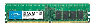 Crucial by Micron DDR4  16GB (PC4-21300) 2666MHz ECC Registered SR x4 (Retail)
