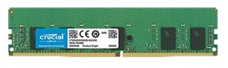 Crucial by Micron DDR4  8GB (PC4-21300) 2666MHz ECC Registered SR x8 (Retail)